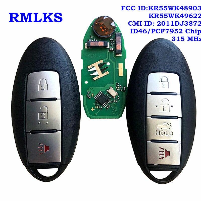 New SMART KEY TRANSMITTER Keyless ENTRY REMOTE For GTR R35 315 Mhz