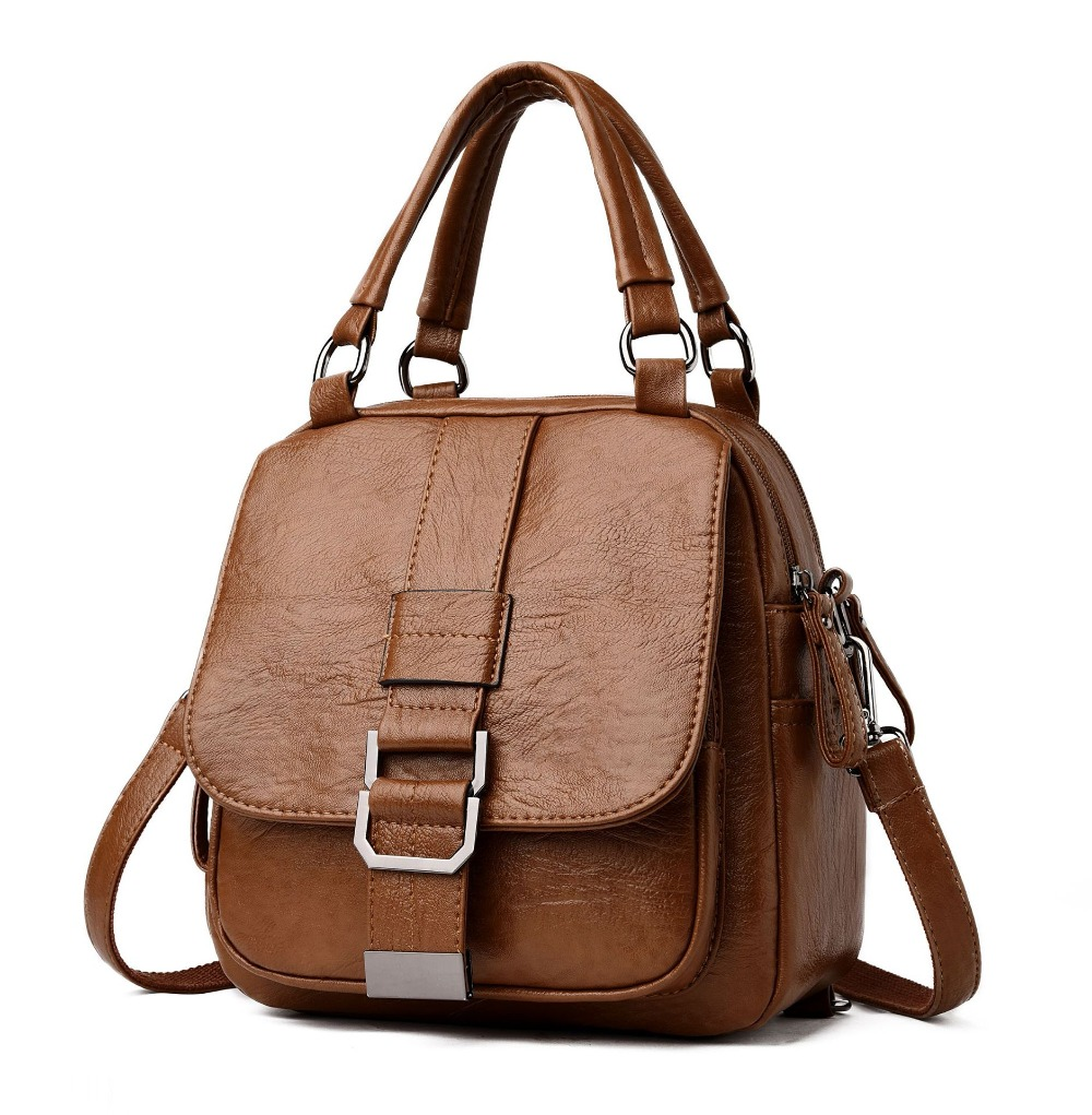 Wholesale Winter Womens Bag 2018 New Soft Leather Large Capacity Europe and America Womens Shoulder Messenger BagWholesale Winter Womens Bag 2018 New Soft Leather Large Capacity Europe and America Womens Shoulder Messenger Bag