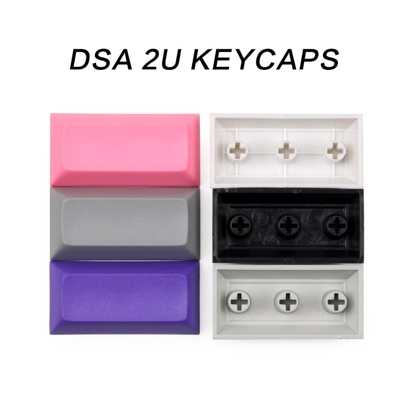 Blank Dsa Pbt Keycap 2u For Cherry Mx Mechanical Keyboard 1.25u Keys 1.5u Keys