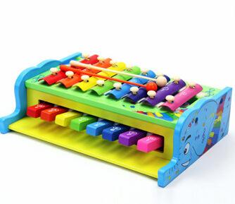 Crianças 8 nota xilofone de madeira musical toys toys para crianças infantil jogar instrumento musical crianças toys