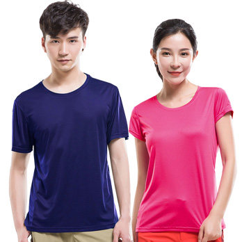 Men Women Short Sleeve T-shirts Quick Dry Clothing Outdoor Sports Running Hiking Cycling Gym Round Neck T Shirt Homme Breathable