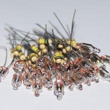 20 pièces ampoule néon lampes indicatrices 4mm 5mm 6mm rouge vert bleu néon signe 4X10 5X13 6X13 6X16 résistance néon Lampada