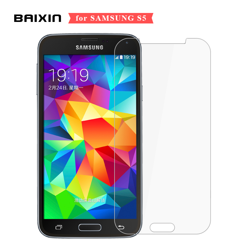 9H 2.5D Screen Protector For Samsung galaxy S5 i9600 SM-G900 Tempered Glass for Samsung S5 G900F Protective Toughened Film