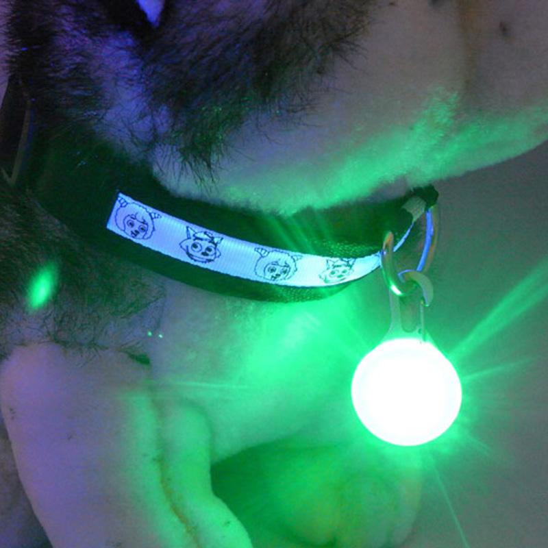 Bright Dog Pet Led Night Safety Flash Light For Collar