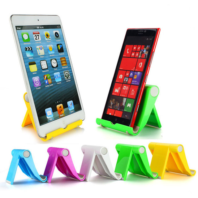 Universal Desk Mobile Phone Stand Holder Cell Phone Foldable