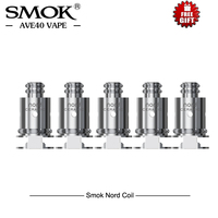 Original 5pcs/lot SMOK Nord Replacement Coil Nord Regular 1.4ohm/Mesh 0.6ohm/ ceramic 1.4ohm For smok Nord Kit