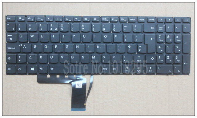 NEW  Keyboard FOR LENOVO  V310 510 310 310S-15IKB 510S-15ISK  UK laptop keyboard Backlight SN20K82489 PM5LB-UK