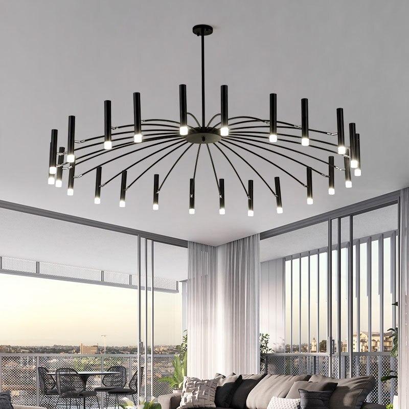Design Art LED lustres salon chambre Restaurant pendentif LED lampe Foyer lumière maison déco Luminaire suspendu Luminaire