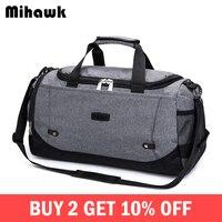 dfaf771b159 Mihawk Men S Large Capacity Travel Bag Women Business Weekend Bags Clothes  Carry On Duffle Pouch. (59). Bekijk Aanbieding. Opvouwbare Grote Reistas ...