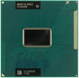 Original lntel Pentium CPU Processor Dual-Core Mobile chip SR0ZZ 2030M Official version rPGA988B Socket G2 2.5GHz 2020m
