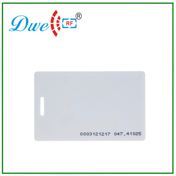 Proximity plastic pvc card 125khz passive waterproof em id rfid tag for 1m long range reader