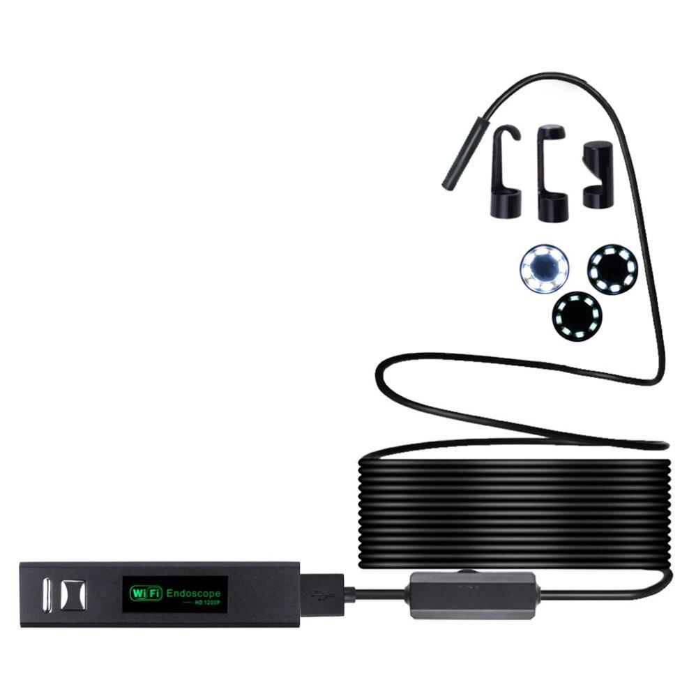 1M Wifi Endoscope Camera Android 8mm 720P Endoscope Camera USB Endoscope Softwire Mini Borescope