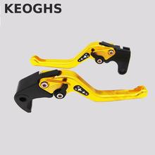 Keoghs Motorcycle Parts Brake Clutch Levers 3d Cnc 155mm Short Adjustable For Yamaha Yzf R1