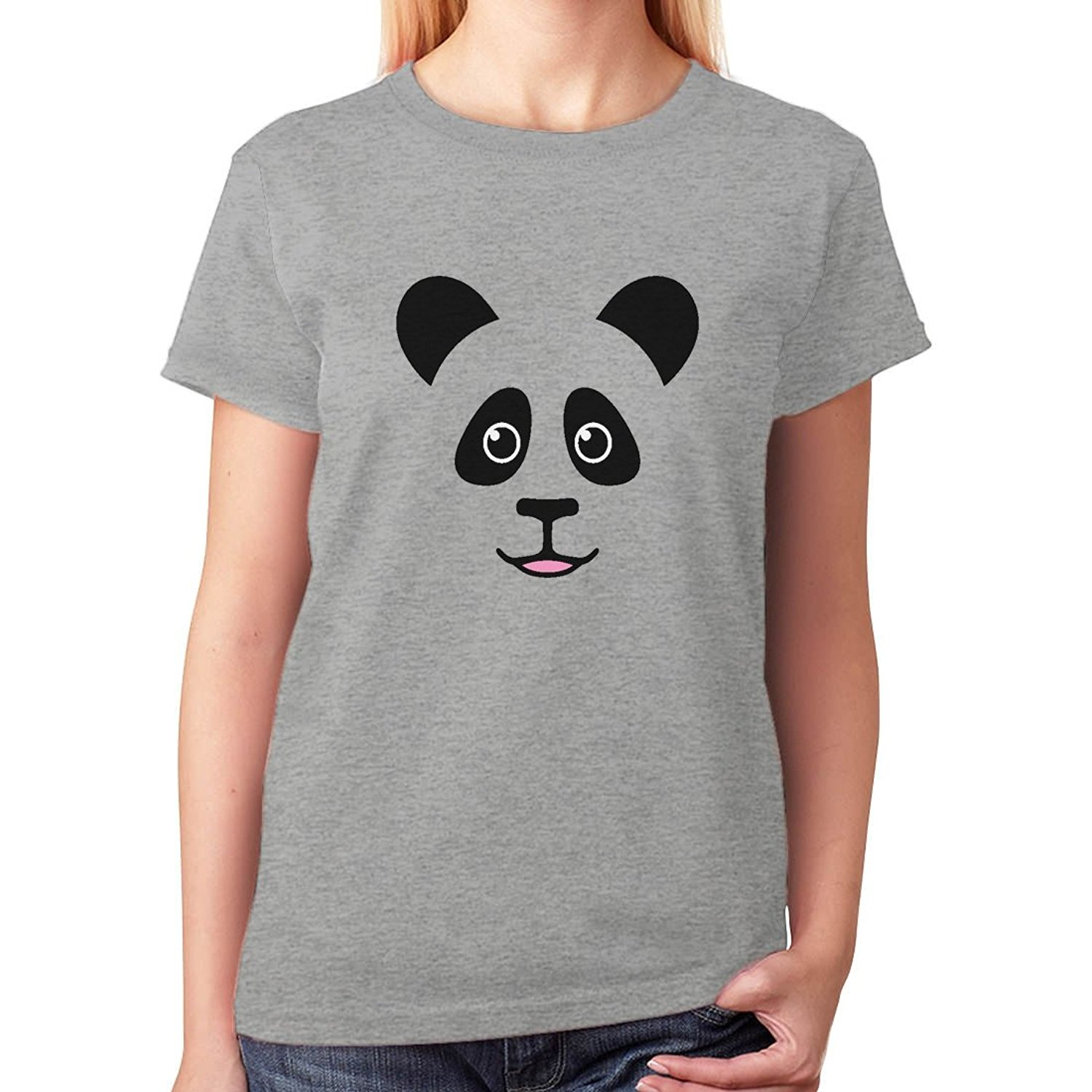 make a t shirts online cute panda bear face best gift for