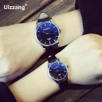 Горячие Классические кожаные Blue Ray платье в деловом стиле аналоговые наручные часы Наручные часы для Для мужчин мужской чёрный; коричневый