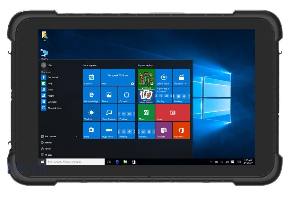 Kcosit 32gb GSM/WCDMA New Waterproof Phone Scanner Tablet China Industrial Windows-10