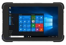 """Китай 8 """"промышленный Прочный планшетный ПК Windows 10 домашний ручной терминал PDA сборщик данных водонепроницаемый телефон сканер штрих кода GPS"""