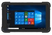 """中国8 """"工業頑丈なタブレットpc windows 10ホームハンドヘルド端末pdaデータコレクタ防水電話バーコードスキャナgps"""