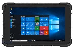 "Image 1 - 중국 8 ""산업용 견고한 태블릿 pc windows 10 홈 핸드 헬드 터미널 pda 데이터 수집기 방수 전화 바코드 스캐너 gps"