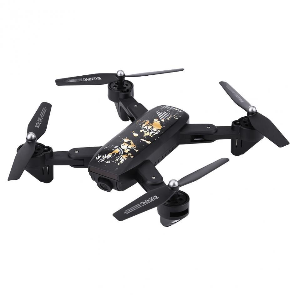 Foldable Remote Control Drone Altitude Hold Wifi FPV Quadcopter with 2MP Camera Remote Control RC Drone