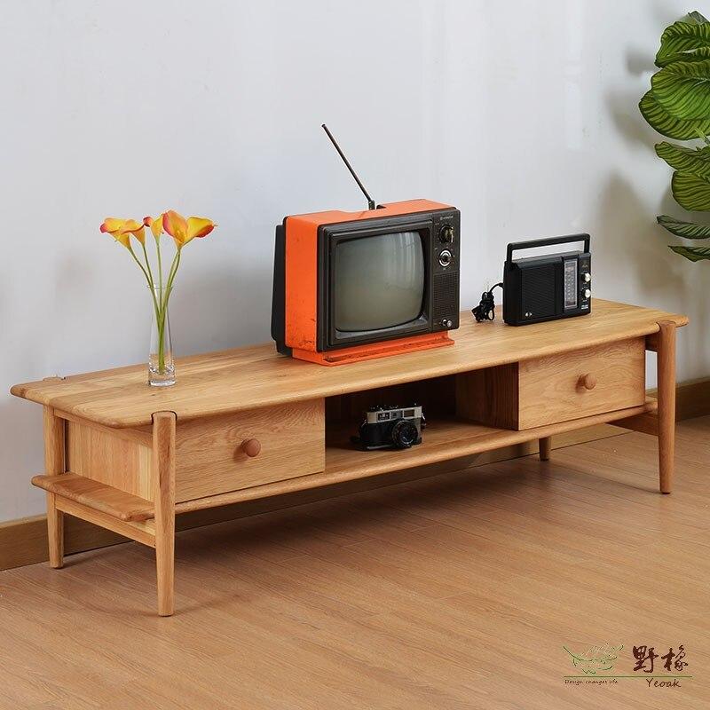 White Tv Cabinet Living Room Furniture: Wild Oak White Oak Wood Cabinet Continental TV1117 TV
