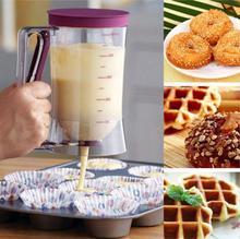 Lecook Neue Backenwerkzeuge Gebäck Pfannkuchenteig Spender Maker Teig Muffins Waffel Cupcake Icing Creme Flüssigkeit Trichter Kuchen Werkzeug