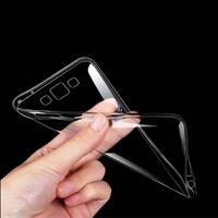 New Transparent Crystal Clear Soft TPU Case For Samsung Galaxy S7 Edge S6 S5 S4 A3