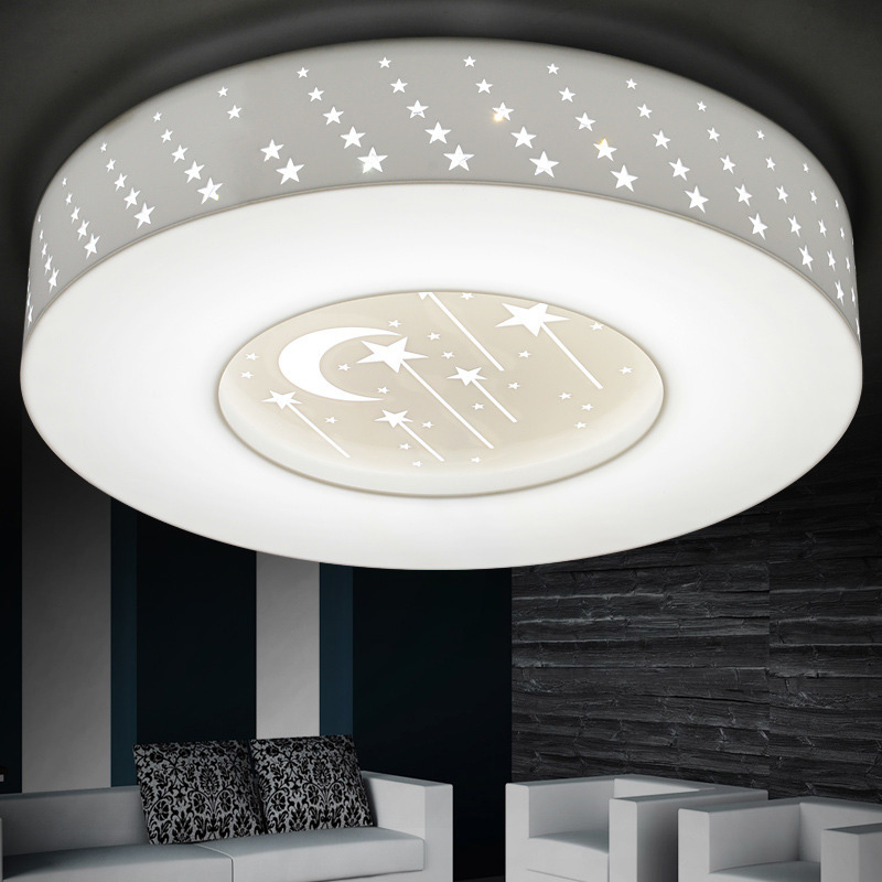 Attractive New Dimmable 24W 36W 48W LED Ceiling Lights Remote Control Home Light  Fixture For Bedroom Dinning