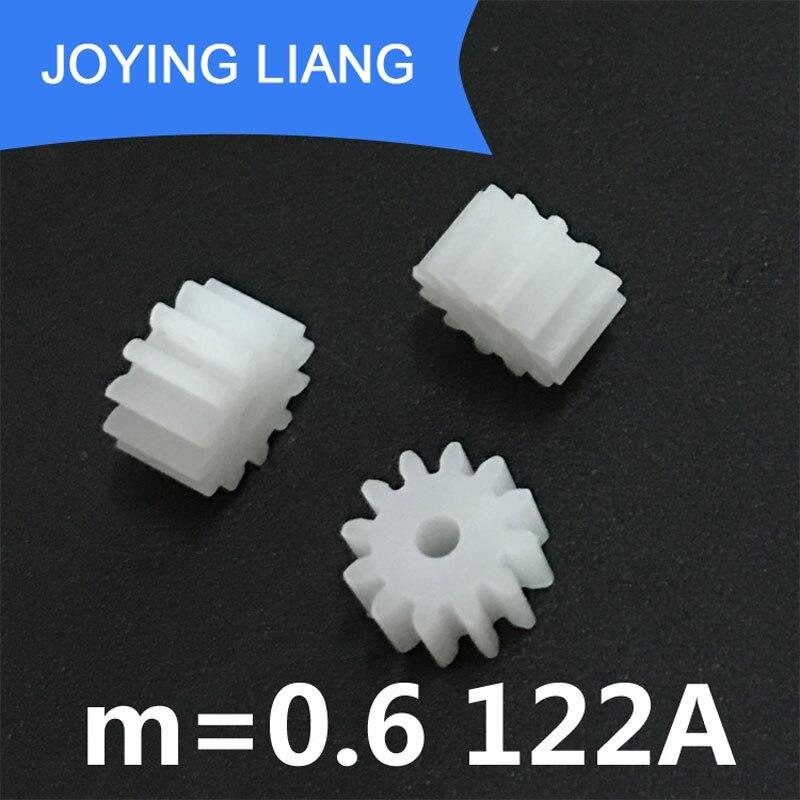 10 шт., заказ образцов, 0,6 м, пластиковая Шестерня s 82A 92A-shoulder 102A 102.5A 122A 202.5A 20082B, модульная Шестерня M = 0,6