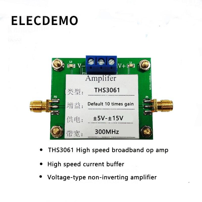 THS3061 модуль высокоскоростной широкополосный op amp высокоскоростной ток буфера неинвертирующий усилитель 300 м пропускная способность продукта-in Аксессуары для демонстрационных стендов from Компьютер и офис