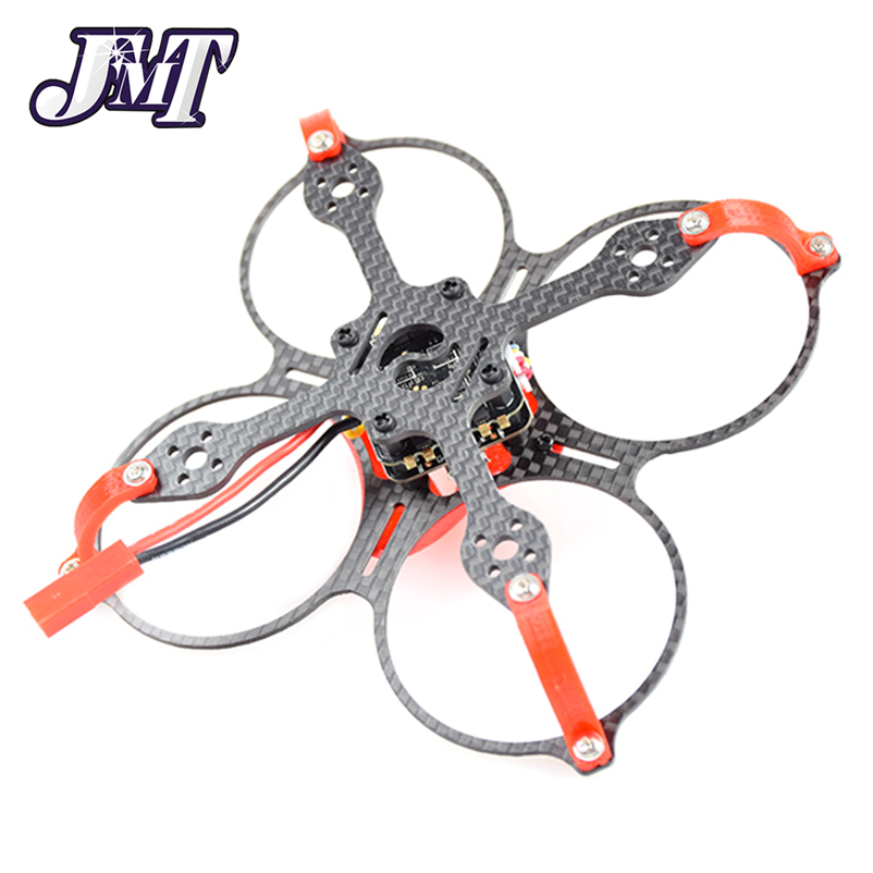 JMT Eaglet85 85MM DIY FPV Camera Micro Brushless Motor Carbon Fiber Racing Quadcopter Drone Frsky/Flysky/DSM-X WFLY RX Receiver jmt leader 120 120mm carbon fiber diy mini fpv racing quadcopter receiver drone camera osd f3 brushless bnf combo set