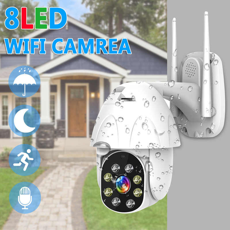 1080P Cloud Storage Wireless PTZ IP Camera Speed Dome CCTV Security Cameras Outdoor ONVIF Two Way Audio P2P Camera WIFI