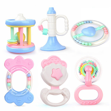 Rattles-Toys Hand-Shake-Bell Gift Funny Toddler Baby Newborn Children for Ring 0-3Y
