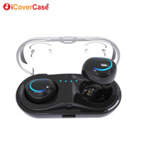 Twins Mini Bluetooth Earphone Wireless Headphone For Huawei P20 Lite P 20 Pro P10 30 Case Earbud Charger Power Bank Charging Box