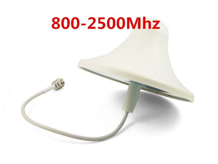 Trasporto libero 800-960 MHz/1710-2500 Mhz 6dBI Antenna interna per GSM, CDMA, WCDMA, DCS, 2G 3G 4G Per Ripetitore del segnale Boosterr