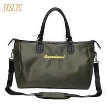 JXSLTC Brand Women's Travel Bags 2017 Fashion Ladies Handbags Large Capacity Waterproof Luggage Duffle Bag Casual Travel Bags