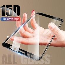 ZNP 15D Full Cover Tempered Glass For Samsung Galaxy J3 J5 J7 Screen Pr