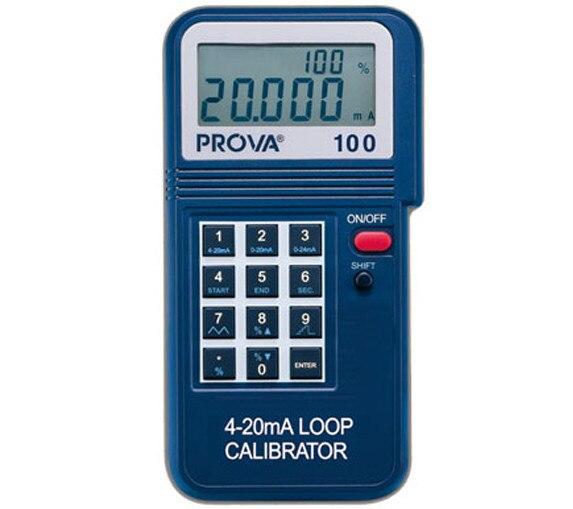 TES Calibrator Monitor Meter PROVA 100 Process Loop 4 20ma PROVA100