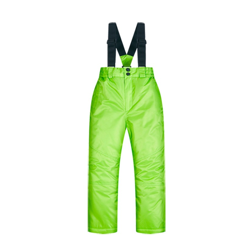 Ski Pants Kids Boys And Girls Outdoor Thicken Windproof Waterproof WarmSnow Children Trousers Winter Skiing And