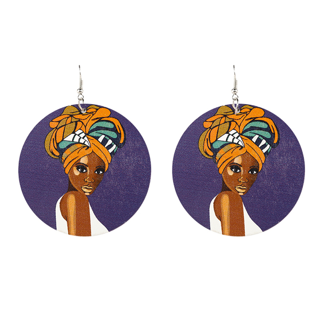 Wood Earrings - 18 Models 2