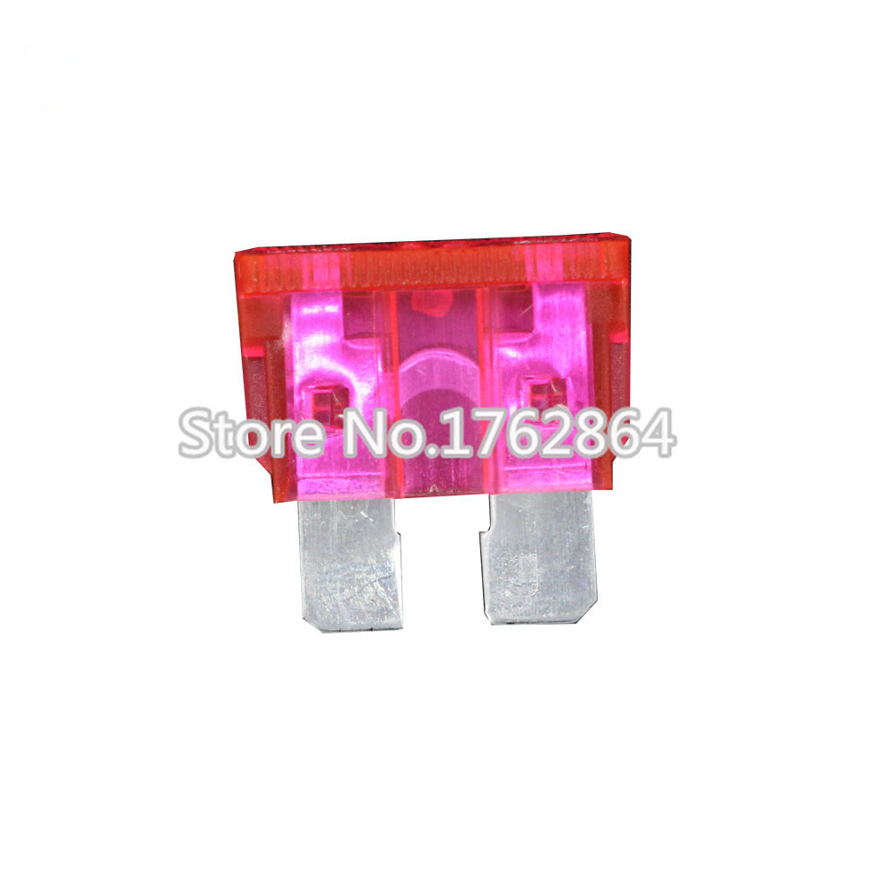10PCS 50A Medium size Auto fuse, Automotive Fuses Blade,The fuse Insurance insert The insurance of xenon lamp piece Lights Fuse add a circuit blade fuse holder with 30a blade fuse black medium size