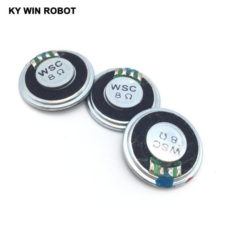 Купить с кэшбэком 5pcs/lot New Ultra-thin Mini speaker 8 ohms 2 watt 2W 8R speaker Diameter 28MM 2.8CM thickness 5MM