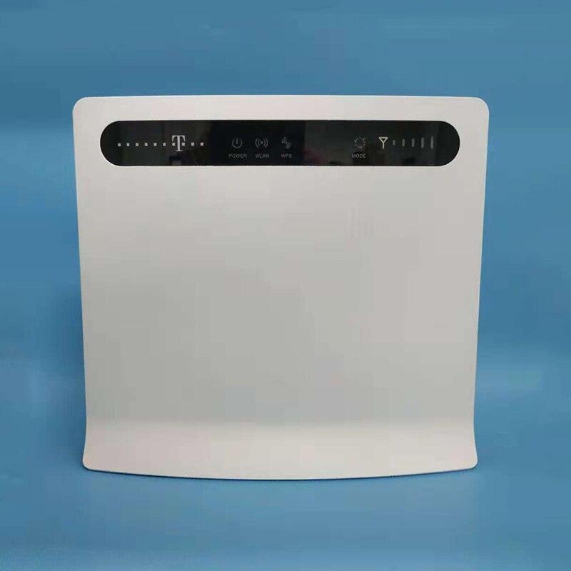 Débloqué huawei B593 B593u-12 4g LTE CPE wifi routeur sans fil avec sim card slot 4g LTE wifi routeur avec 4 LAN port
