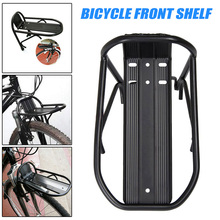 Newly Aluminum Alloy Bike Front Rack Panniers Bag Carrier Luggage Shelf Bicycle Bracket BF88