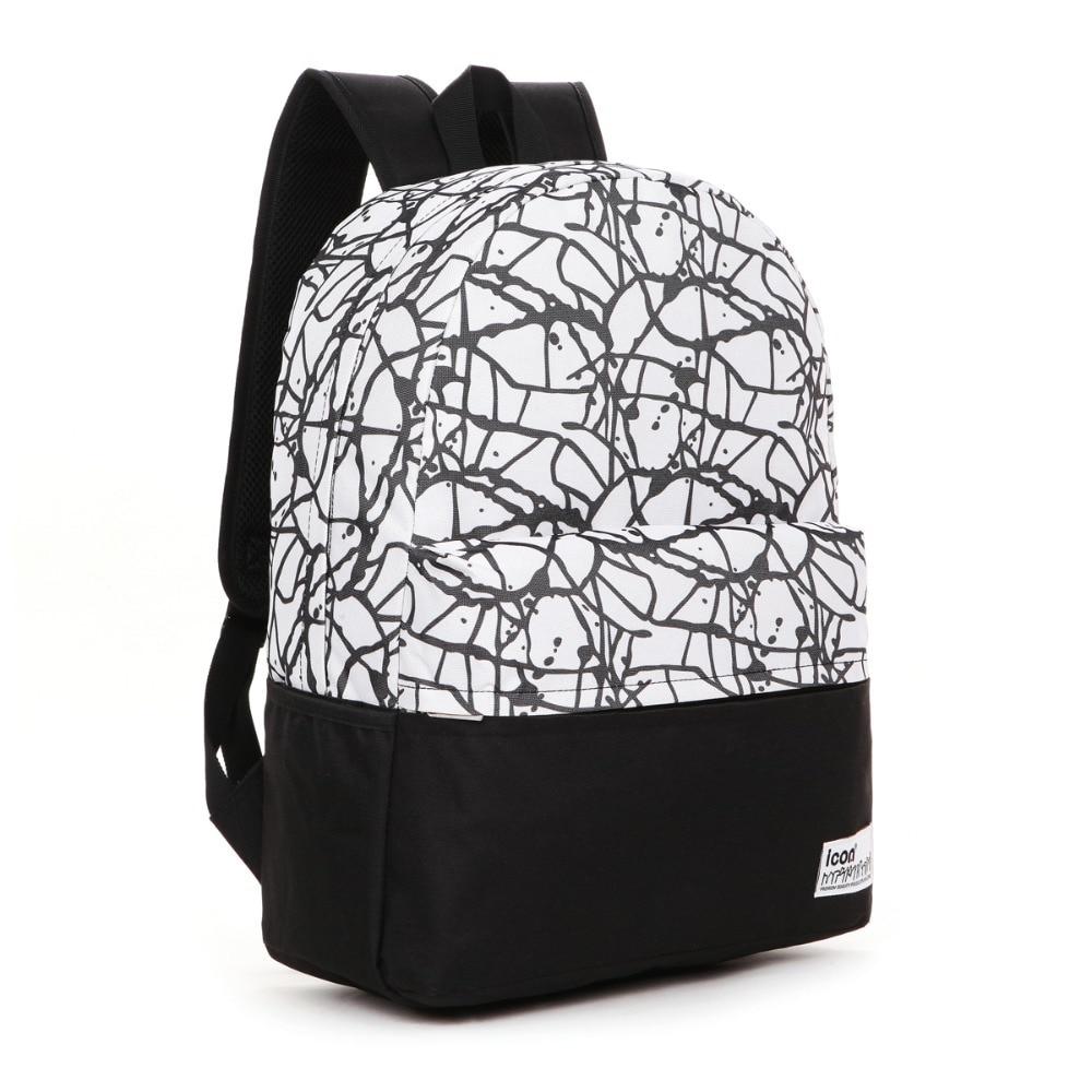 Women's Girls Waterproof Laptop Backpacks Men's College Book Bags ...