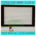Новый 9 дюйм(ов) i9s tablet емкостной сенсорный экран 100-089F-1120A бесплатная доставка