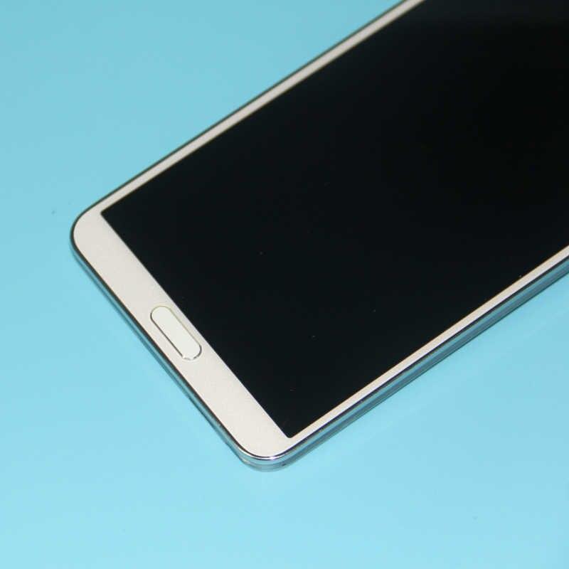 100% اختبار LCD شاشة لسامسونج غالاكسي Note3 ملاحظة 3 N9005 شاشة الكريستال السائل مجموعة المحولات الرقمية لشاشة تعمل بلمس مع إطار ملاحظة 3 N9005