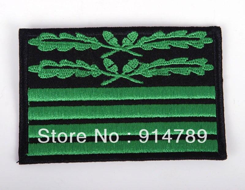 WW2 GERMAN CAMOUFLAGE RANK BRIGADIER GENERAL BADGE PATCH-33206
