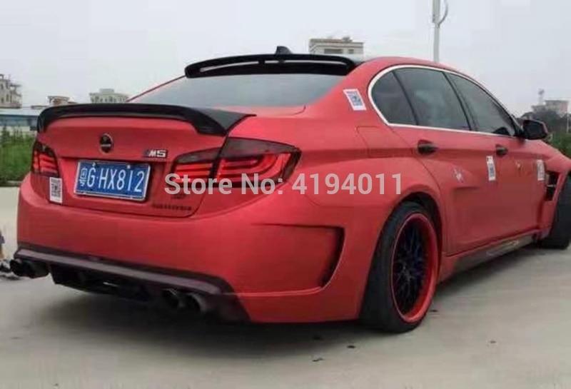 For BMW F10 5 Series Sedan Rear Roof Window Spoiler Wing 2010-16 528i 535i 520i