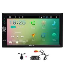 Android 6.0 Car Stereo 2 Din Car Video Player Autoradio GPS Navigation Capacitive Screen Car PC Head Unit Front&Rearview Camera